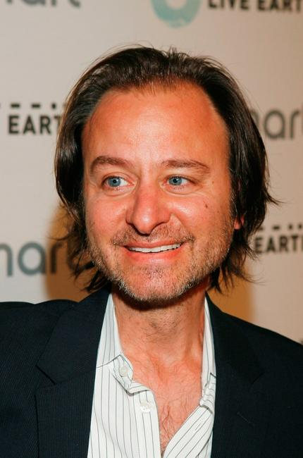 Fisher Stevens at the Live Earth and smart house party.
