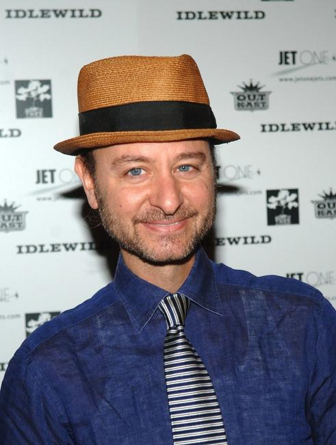 Fisher Stevens at the Outkast Record Release after party.