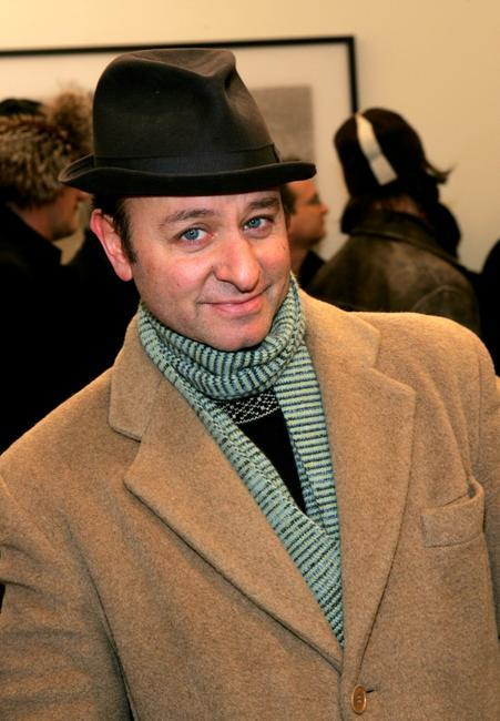 Fisher Stevens at the opening reception for