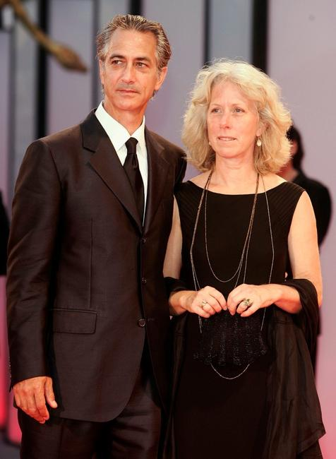 David Strathairn and his wife Logan at the 62nd Venice Film Festival, for the premiere of