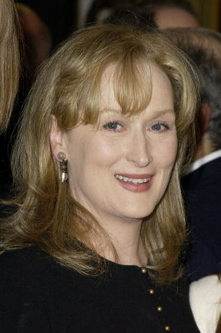 "Meryl Streep at the premiere of ""The Hours"" in Westwood, California."