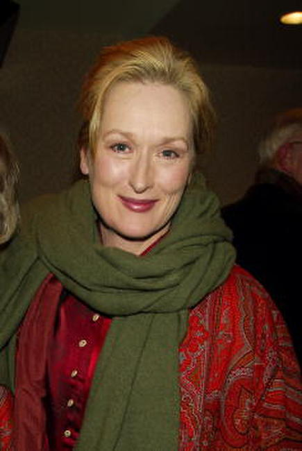 "Meryl Streep at a tribute and special screening of ""Saturday Night and Sunday Morning"" in New York City."