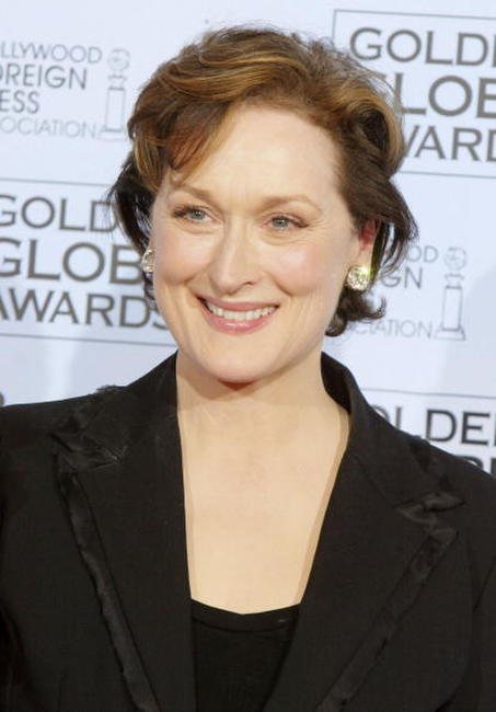 Meryl Streep at the 61st Annual Golden Globe Awards in Beverly Hills.