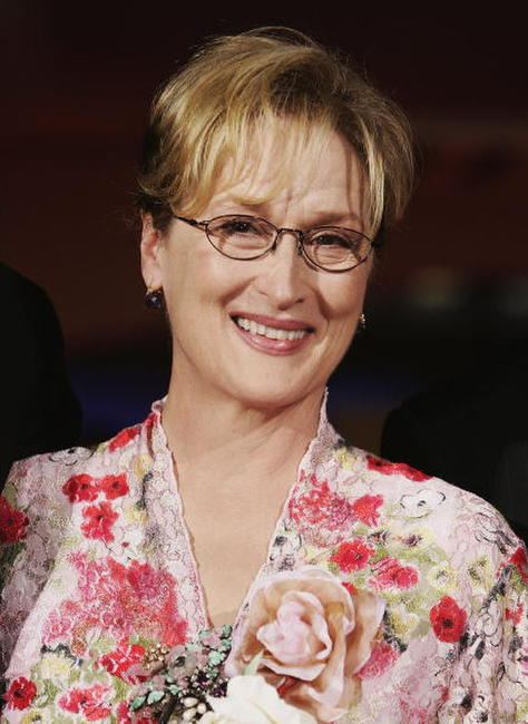 Meryl Streep at the 'The Manchurian Candidate' premiere in Venice, Italy.