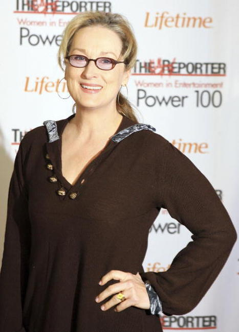 Meryl Streep at The Hollywood Reporter's Women in Entertainment Breakfast Honoring Meryl Streep in Beverly Hills, California.