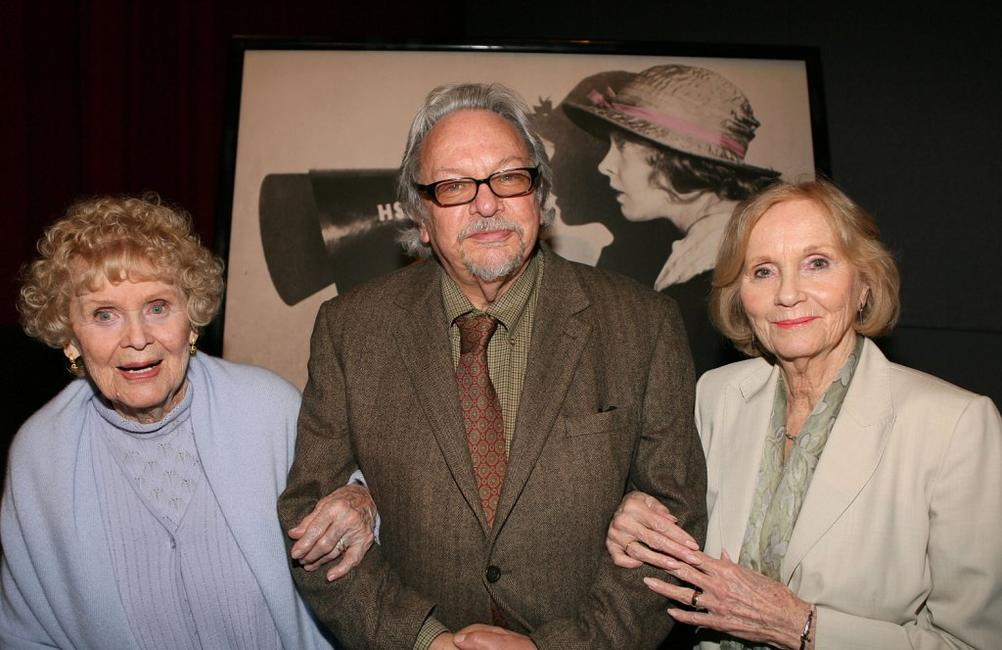 Gloria Stuart, Robert Rosen and Eva Marie Saint at the kick-off reception for Women In Film Foundation's