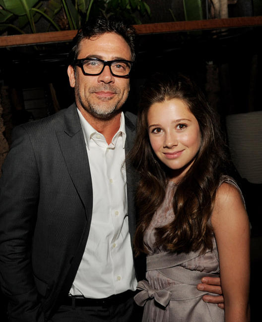 Jeffrey Dean Morgan and Natasha Calis at the after party of the California premiere of