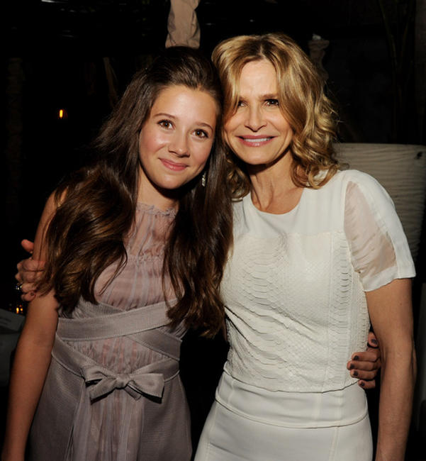 Natasha Calis and Kyra Sedgwick at the after party of the California premiere of