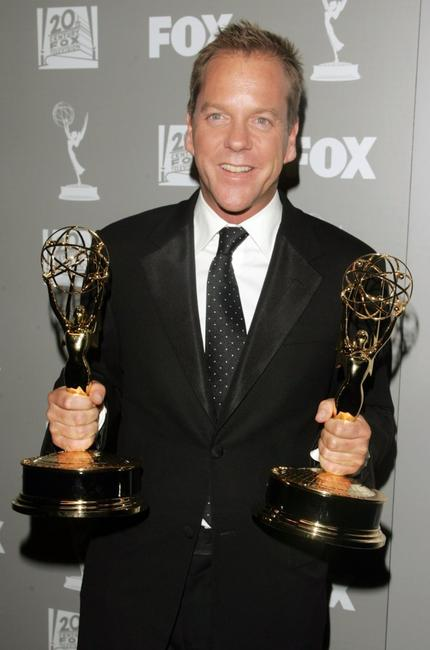 Kiefer Sutherland at the 20th Century Fox Television 2006 Emmy Party.