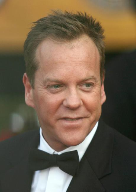 Kiefer Sutherland at the 13th Annual Screen Actors Guild Awards.