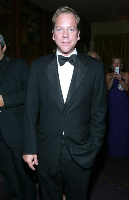 Kiefer Sutherland at the 20th Century Fox's Emmys Party.