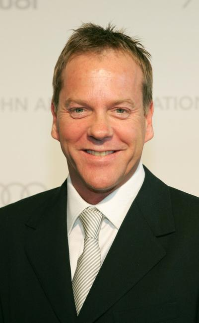 Kiefer Sutherland at the 15th Annual Elton John AIDS Foundation Oscar Party.