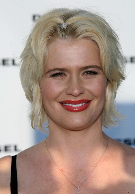 Kristy Swanson at the Opening of the Melrose Place Diesel Store.