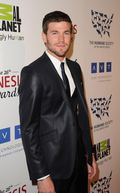 Austin Stowell at the 26th Annual Genesis Awards in California.