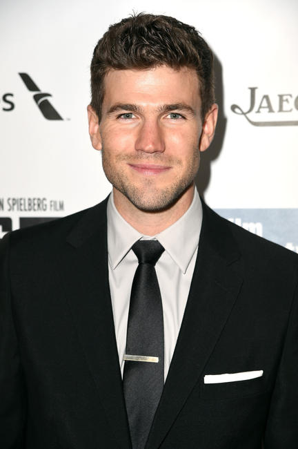 Austin Stowell at the premiere of