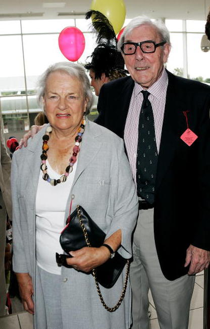 Edith and Eric Sykes at the 49th Variety Club Race Day.