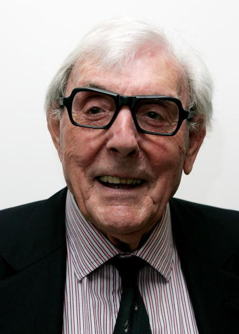 Eric Sykes at the 49th Variety Club Race Day.