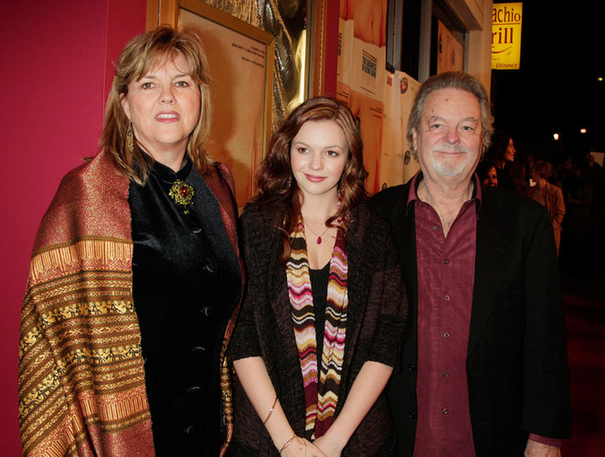 Bonnie Tamblyn, Amber Tamblyn and Russ Tamblyn at the California premiere