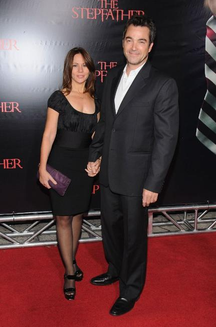 Jon Tenney and Guest at the New York premiere of