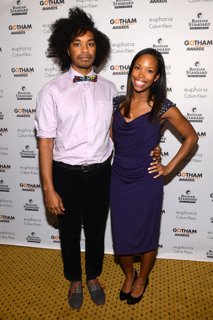 Terence Nance and Namik Minter at the IFP's 22nd Annual Gotham Independent Film Awards in New York.