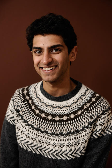 Karan Soni at the portrait session of