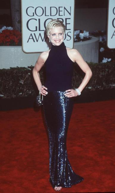 Courtney Thorne-Smith at the Golden Globe Awards.