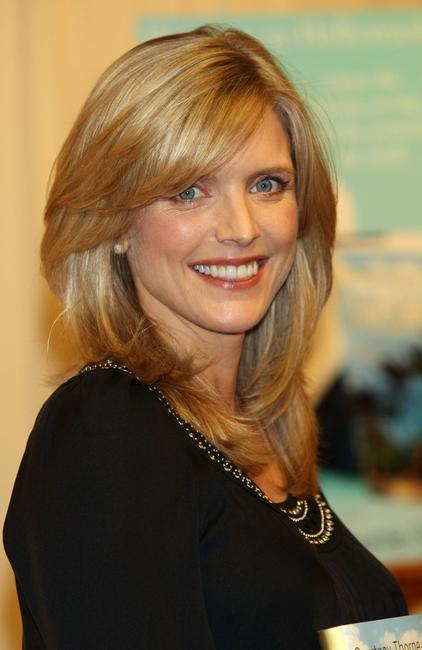 Courtney Thorne-Smith poses for a photo during an in-store appearance to sign copies of her debut novel