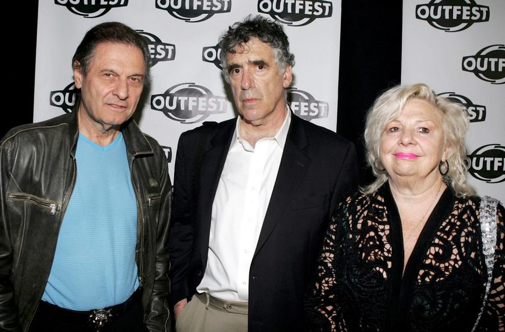 Joseph Bologna, Elliott Gould and Renee Taylor at the screening of