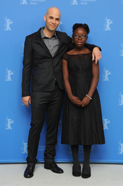 Director Kim Nguyen and Rachel Mwanza at the photocall of