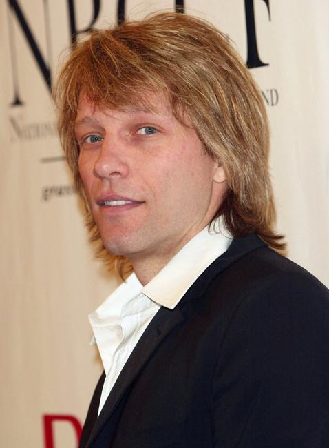 Jon Bon Jovi at the National Breast Cancer Coalition and Revlon annual fundraising gala.