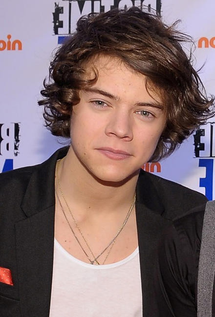 Harry Styles at the orange carpet premiere of