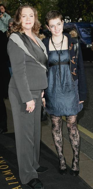 Kathleen Turner at The Evening Standard Theatre Awards.