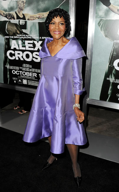 Cicely Tyson at the California premiere of