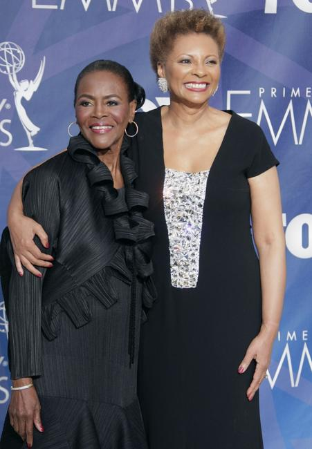Cicely Tyson and Leslie Uggams at the 59th Annual Primetime Emmy Awards.