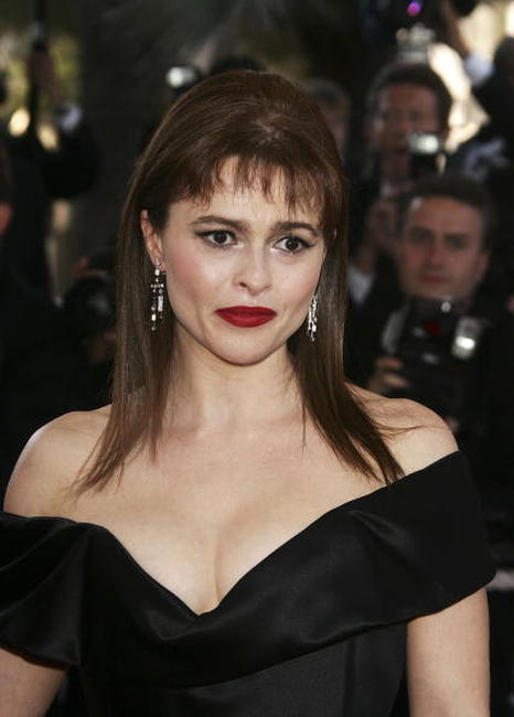 "Helena Bonham Carter at the ""Volver"" premiere in Cannes, France."