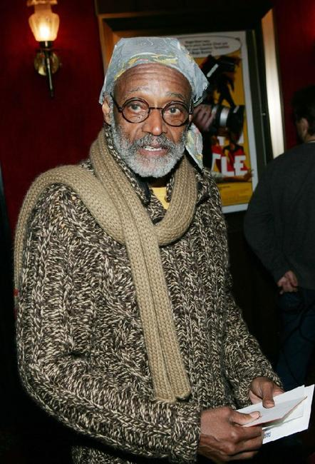 Melvin Van Peebles at the New York premiere of