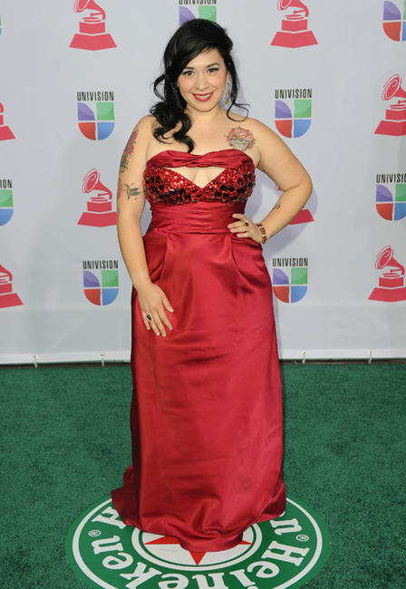 Carla Morrison at the 13th Annual Latin GRAMMY Awards in Nevada.