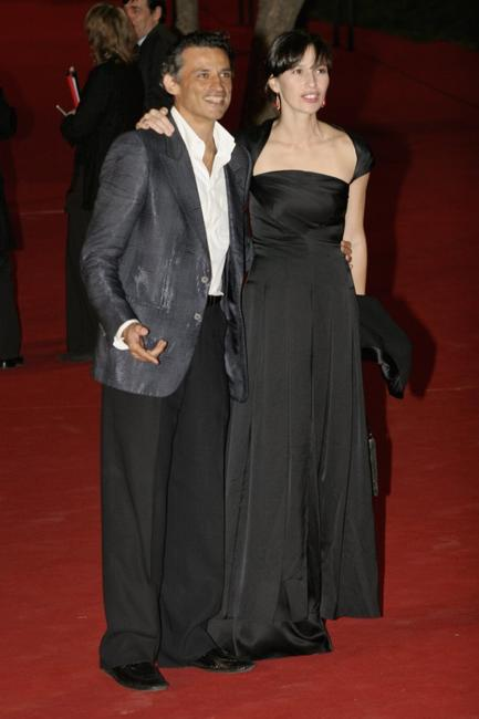 Enrico Lo Verso and Ariadna Gil at the premiere of