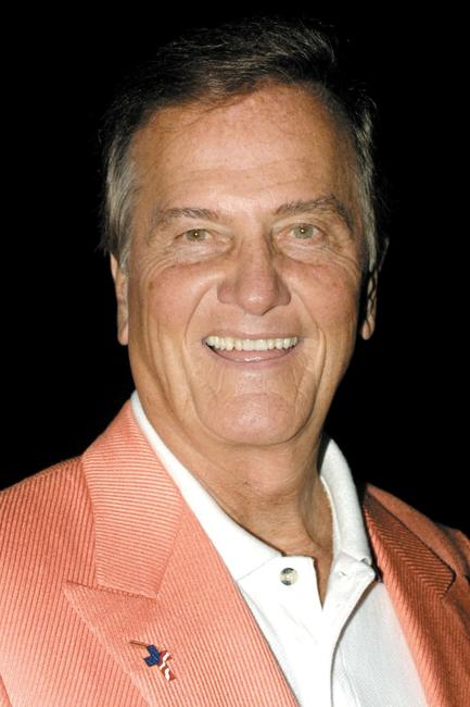 Pat Boone at the press conference announcing detail plans for the Motion Picture Hall Of Fame.