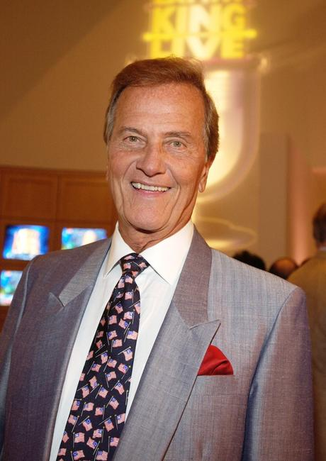 Pat Boone at the 70th birthday party for television talk show host Larry King.
