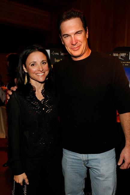 Julia Louis-Dreyfus and Patrick Warburton at the Juma Entertainment's 17th Annual Deer Valley Celebrity Skifest.