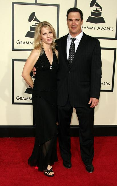 Patrick Warburton at the 50th annual Grammy awards.