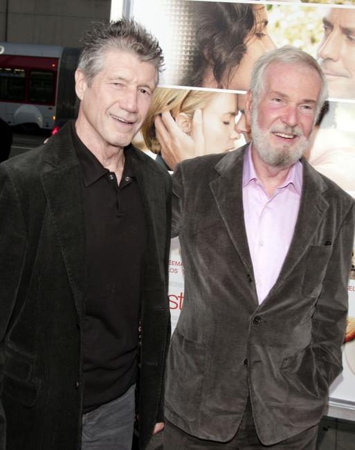 Fred Ward and Robert Benton at the premiere of