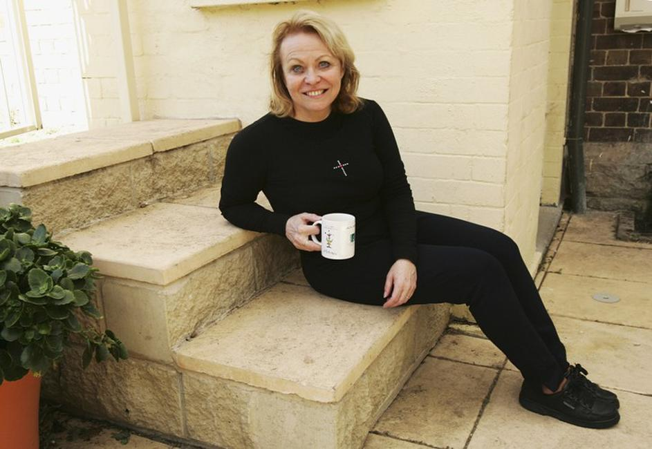 Jacki Weaver at the rehearsal of