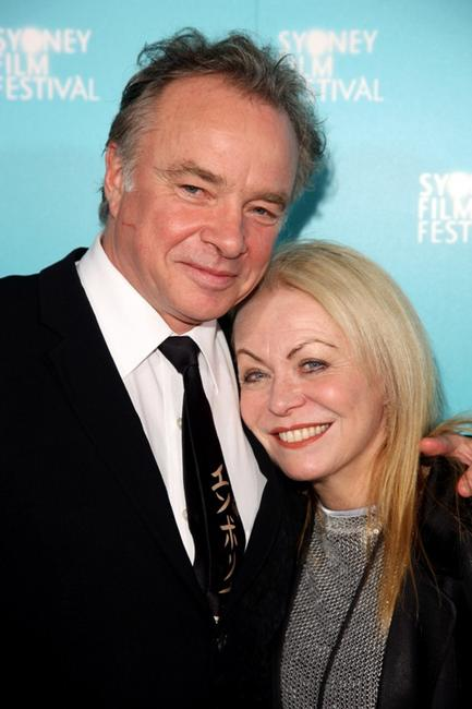 Sean Taylor and Jacki Weaver at the Australian premiere of