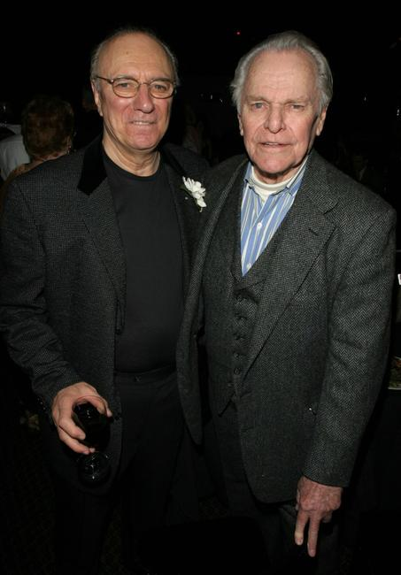 Philip Bosco and Larkin Ford at the after party of the premiere of