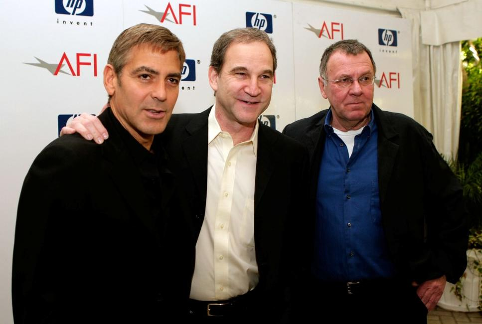 Tom Wilkinson, George Clooney and Marshall Herskovitz at the 8th Annual AFI Awards.