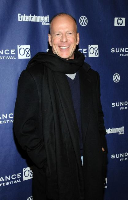 Bruce Willis at the 2008 Sundance Film Festival premiere of