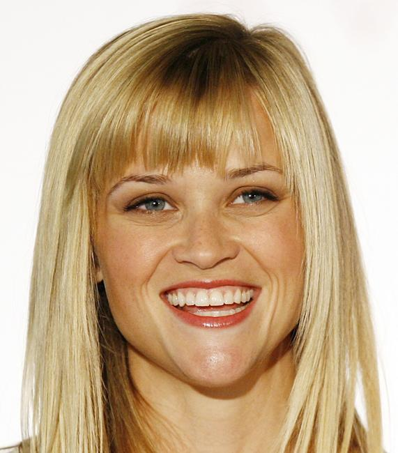 Reese Witherspoon at a press conference to announce she is named Avon Global Ambassador.