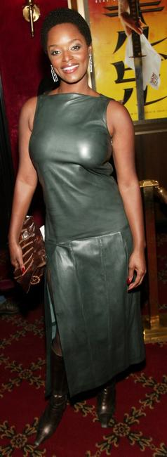 N'Bushe Wright at the premiere of